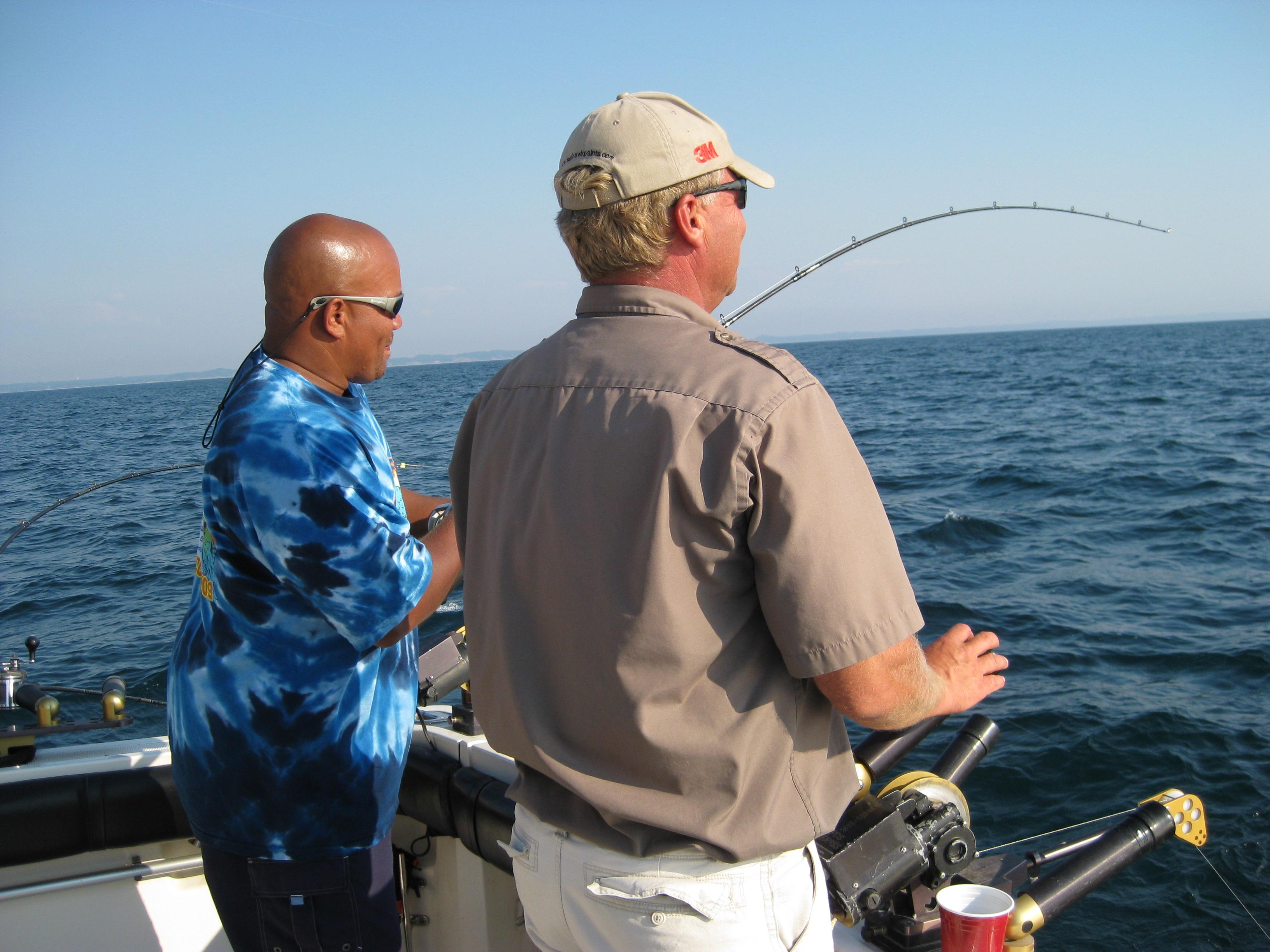 Fishing photos lake michigan fishing charters seahawk for St joseph michigan fishing report